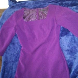 Tahari Purple Dress